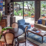 Zona de estar La Colina Hotel Cottage