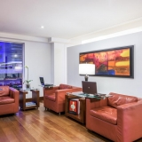 Sala de internet Hotel NH Royal Pavillon
