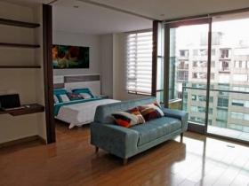 Apartamento Loft en Chicó Parque 93 en Rincón del Chicó, Chapinero, Bogotá